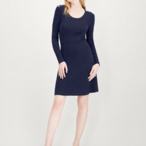 Dresses  Maison Jules  Ribbed Sweater Dress  BLUE